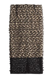 By Malene Birger Textured Lace Pencil Skirt Black