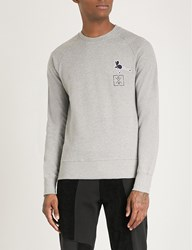 Christopher Raeburn Jerboa Cotton Jersey Sweatshirt Grey Melange