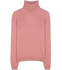 Bottega Veneta Cashmere Turtleneck Sweater Pink