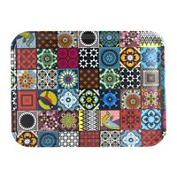 Images D'orient Rectangular Tray 46X34cm Patchwork