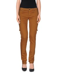 Pinko Grey Trousers Casual Trousers Women Brown