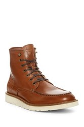 Andrew Marc New York Ashford Moc Toe Boot Metallic