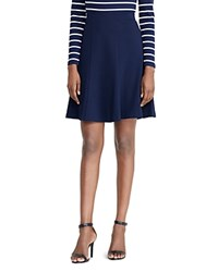Ralph Lauren Flared Ponte Skirt Navy