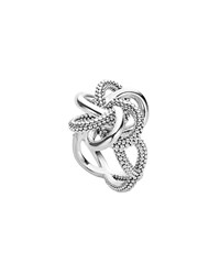 Lagos Sterling Silver Love Knot Ring