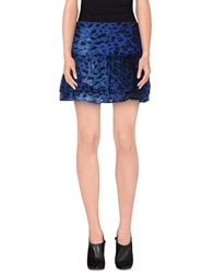 Gaudi' Mini Skirts Bright Blue