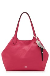 Vince Camuto Polli Leather Tote Pink Fuchsia