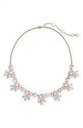 Marchesa Women's Frontal Crystal Necklace