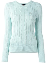 Polo Ralph Lauren 'Julianna' Jumper Green