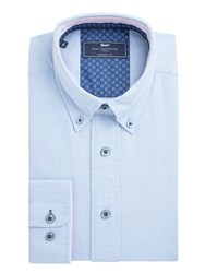 Paul Costelloe Michaelo Oxford Cotton Shirt Blue