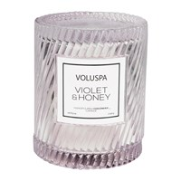 Voluspa Macarons Icon Candle Violet And Honey 240G