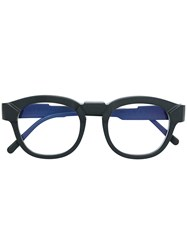 Kuboraum Round Glasses Black