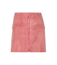 Stouls Yeye Suede Skirt Pink