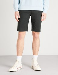 J Brand Eli Relaxed Fit Cotton Shorts Greysite