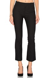 Derek Lam Cropped Flare Trouser Black