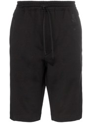 Y 3 New Track Shorts Black