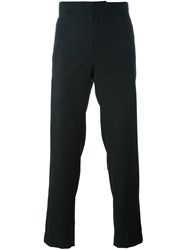 Wooyoungmi Loose Fit Tailored Trousers Black