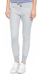 Zoe Karssen Slim Fit Sweatpants Grey Heather