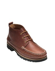 Cole Haan Connery Leather Chukka Boots Barley