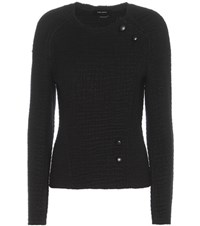 Isabel Marant Lawrie Knitted Is Wool Sweater Black