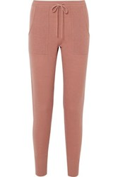 Eres Astucieux Cashmere And Wool Blend Pants Antique Rose