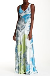 Biya Floor Length Printed Dress Multi