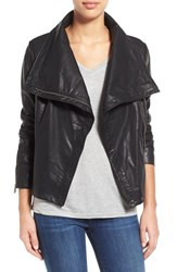 Women's Levi's Cowl Neck Faux Leather Jacket