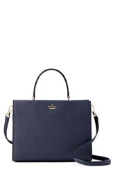 Kate Spade New York Cameron Street Sara Leather Satchel Blue Blazer Blue