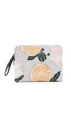 Lizzie Fortunato Safari Clutch Tropicana