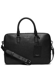 Michael Kors Leather Briefcase Black
