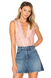 The Jetset Diaries Primavera Bodysuit Pink