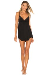Only Hearts Club Venice Lace Babydoll Black