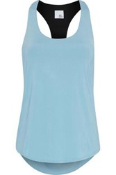 Iris And Ink Li Cutout Stretch Jersey Tank Sky Blue