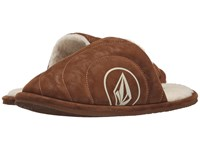 Volcom Slacker Slipper Cognac 1 Women's Slippers Pewter