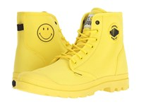 Palladium Pampa Smiley Festbag Blazing Yellow Lace Up Casual Shoes