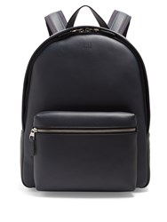 Dunhill Hampstead Leather Backpack Navy