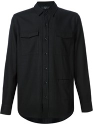 Neuw Triple Front Pocket Shirt Black