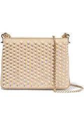 Christian Louboutin Triloubi Small Spiked Leather Shoulder Bag