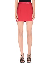 Elisabetta Franchi Skirts Mini Skirts Women Red