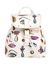 Boutique Moschino Backpacks And Fanny Packs White