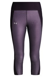 Under Armour Fly By Tights Imperial Purple Dark Purple
