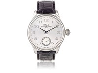 Ball Watch Men's Trainmaster Cleveland Night Express White