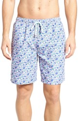 Peter Millar Shelly Turtle Print Swim Shorts Dusk Pink