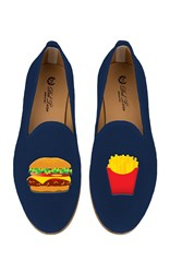 Del Toro M'o Exclusive Burger And Fries Slipper Navy
