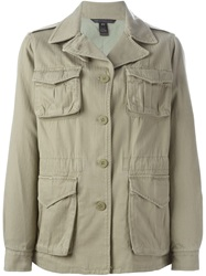 Marc By Marc Jacobs Military Coat Green