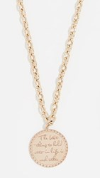 Zoe Chicco 14K Gold The Best Thing Necklace Yellow Gold