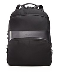 Longchamp Nyltec Backpack Black