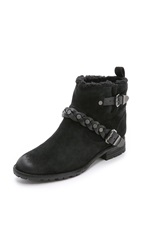 Belle By Sigerson Morrison Larson Booties Black