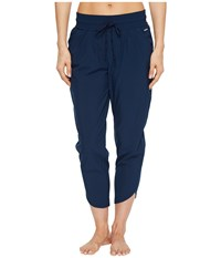 Jockey Active Swift Woven Tapered Pants Thunder Blue Casual Pants