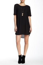 Daniel Rainn Solid Shift Dress Black