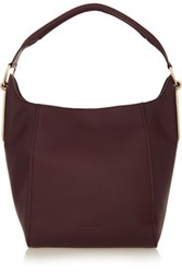 See By Chloe Paige Textured Leather Tote Burgundy